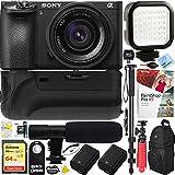 Sony ILCE-6500 a6500 4K Mirrorless Camera Body w/APS-C Sensor (Black) + 35mm f/2.8 Rokinon Prime Lens Bundle Zeiss Sonnar 24mm F1.8 Lens Kit