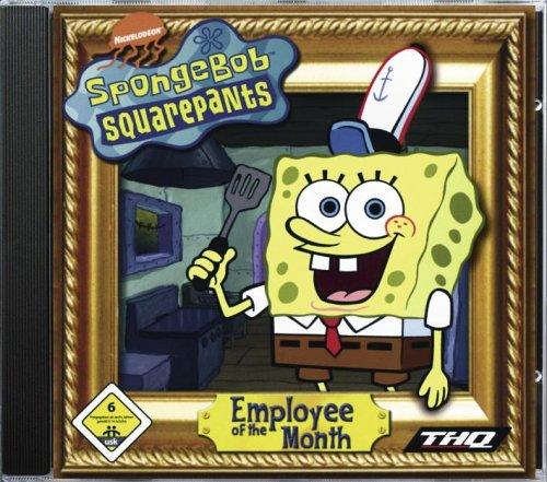 spongebob schwammkopf mitarbeiter des monats