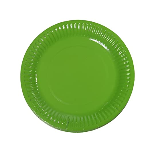 Pack of 100 Disposable Serving Plates 7 Inch Disposable Paper Plates for BirthdayParty  sc 1 st  Amazon UK & Pack of 100 Disposable Serving Plates 7 Inch Disposable Paper ...