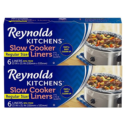 Price comparison product image Reynolds Kitchens Slow Cooker Liners, Regular, 12 Count