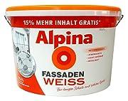 Alpina Fassadenfarbe Test