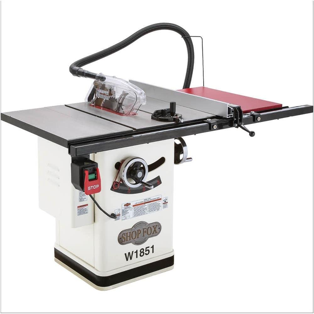Shop Fox W1851 Table Saws product image 3