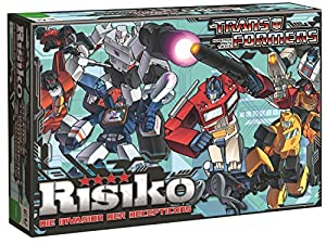 Winning Moves 10982 - Risiko Transformers retro, Strategiespiel
