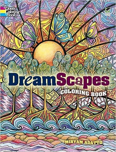 Dreamscapes Coloring Book Dover Coloring Books Amazon De Miryam