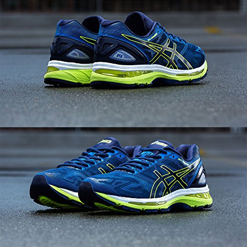 Bleu Homme Orange Running Gel Uk Asics nimbus De 19 Chaussures YRznBOqS