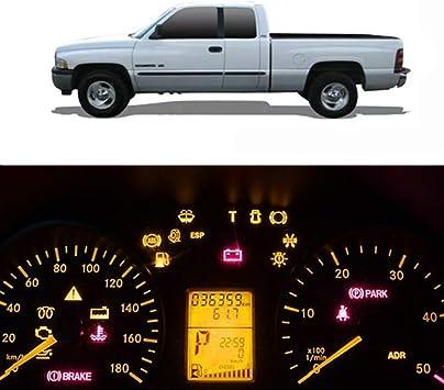 1994-2001 DODGE RAM 1500 2500 3500 TRUCK YELLOW LOWER FOG LIGHT SET W//50W 6K HID
