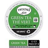 Twinings of London Green Tea K-Cups for Keurig, 12 Count (Pack of 6)