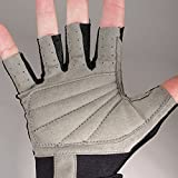 NeoSport 3/4 Finger Neoprene Gloves, 1.5mm - Unisex Design for Obstacle Racing, Biking, Sailing and Paddle Boarding - Offer Protection and a Reliable Grip - Soft, Comfortable Fit, Black, X-Large