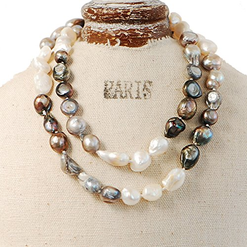 25 Inch Cultured Pearl Necklace - 1