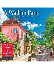 A Walk in Paris 2021 Wall Calendar