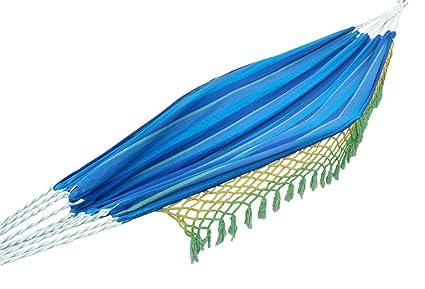 Hangit Cotton Hammock (Ocean Blue, 335 Centimeters)