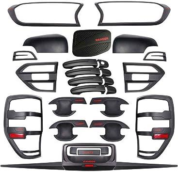 Kits de montage de carrosserie pour Ford Ranger T7 T8 Wildtrak PX MK2 MK3 accessoires de style 2015-2020 noir mat