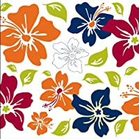Brewster WPB90258 Wall Pops Island Fusion Blue Blox, Set of 5 Stickers