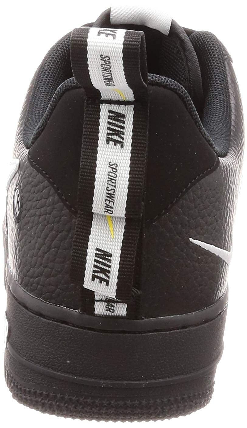 Nike Air Force 1 07 Lv8 Utility, Zapatillas de Gimnasia para Hombre, Negro White/Black/Tour Yellow 001, 44.5 EU: Amazon.es: Zapatos y complementos