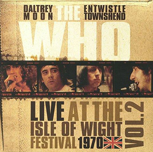 Vinilo : The Who - Live At The Isle Of Wight Vol 2 (Colored Vinyl, White, 140 Gram Vinyl, United Kingdom - Import)