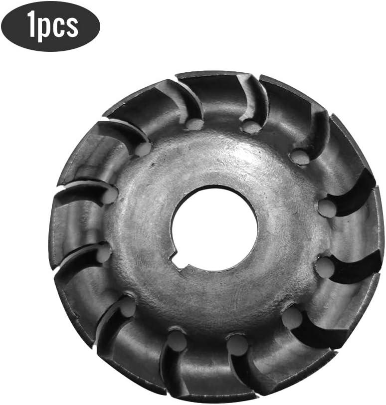 Leepesx 2pcs disque de sculpture sur bois multifonctionnel haute duret/é 12 dents 16mm trou trou 65mm diam/ètre bois