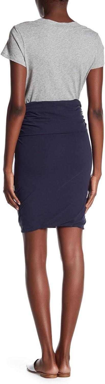 James Perse hoch Gauge Jersey Twisted Skirt