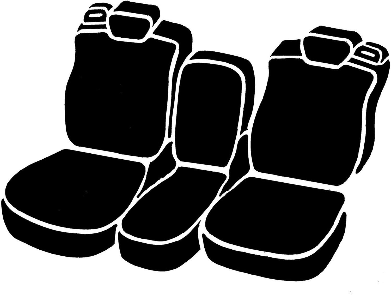 Fia TR47-10 GRAY Custom Fit Front Seat Cover Split Seat 40//20//40 Saddle Blanket, Gray