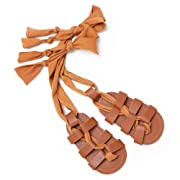 Isbasic Baby Boys Girls Summer Lace Up Shoes Roman Sandals(0-6 Months)