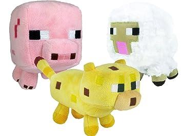 Sablon 16525 Minecraft - Cerdo o vaca de peluche (17 cm)