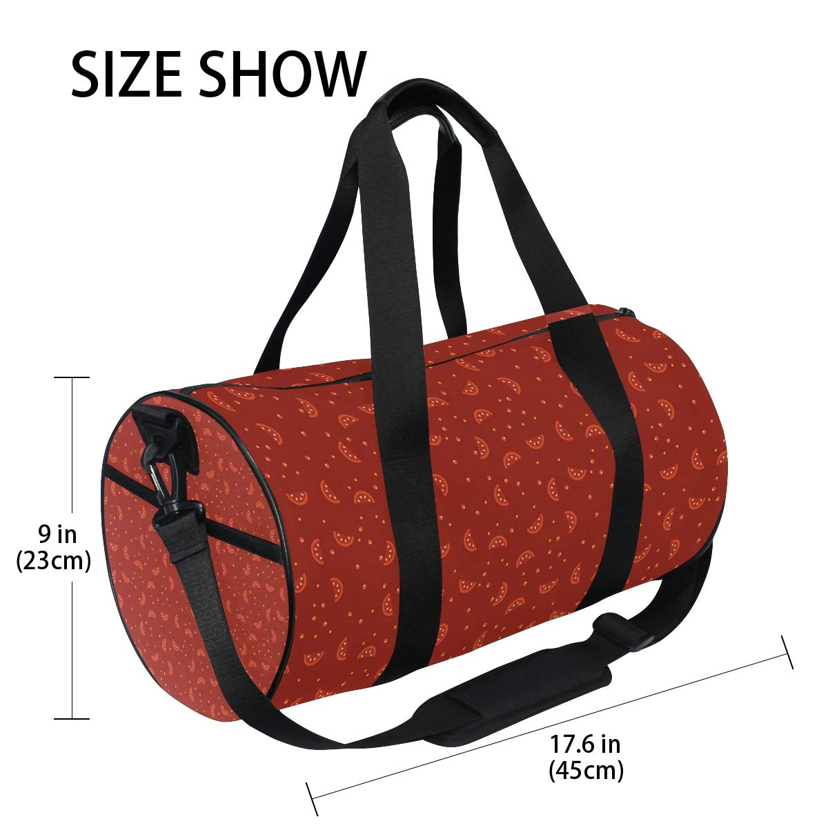Waterproof Non-Slip Wearable Crossbody Bag fitness bag Shoulder Bag Vegetable Drying Picture