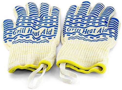 Triple Design Heat Resistant Gloves