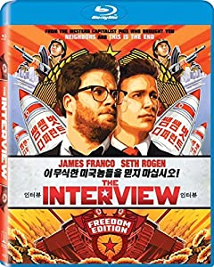 Cover Image for 'The Interview (Blu-ray + UltraViolet)'