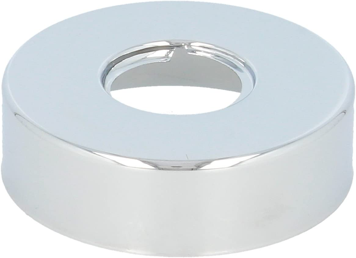 edelmatt 3//4 tecuro DESIGN-Hahnrosette Ø 27 mm x Ø 71 mm