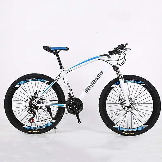 VANYA Adulto Bicicleta de montaña 27 Velocidad del Freno de Disco ...