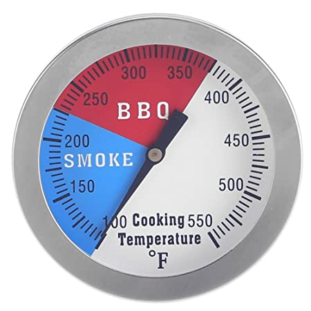 BESTVECH Stainless Steel BBQ Grill Meat Food Thermometer Dial Temperature Gauge