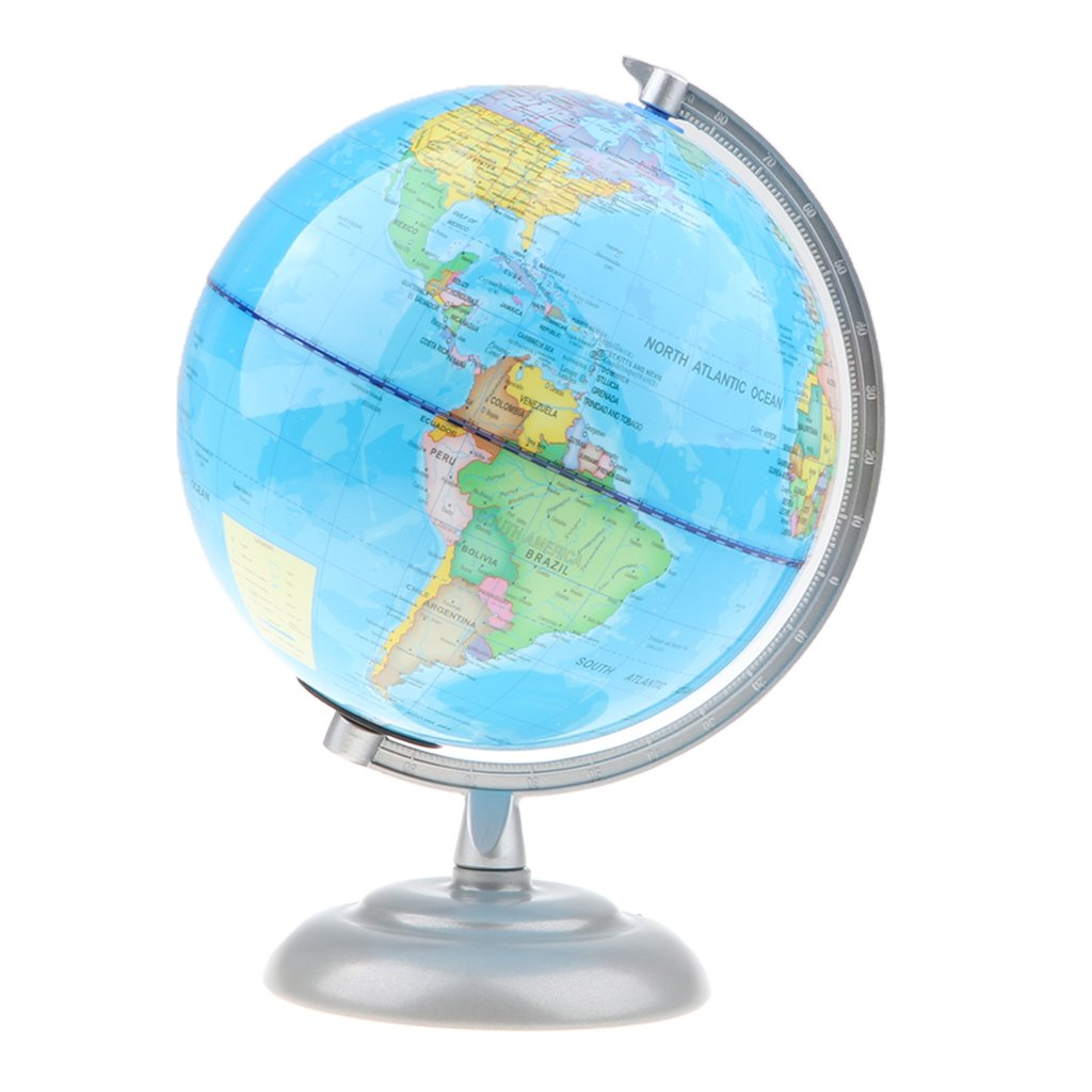 D DOLITY Globo Terrestre Esfera de Mapa Mundial en Inglés Juguete Científico Educativo para Niños Adultos Diámetro de 20cm - #6: Amazon.es: Juguetes y ...