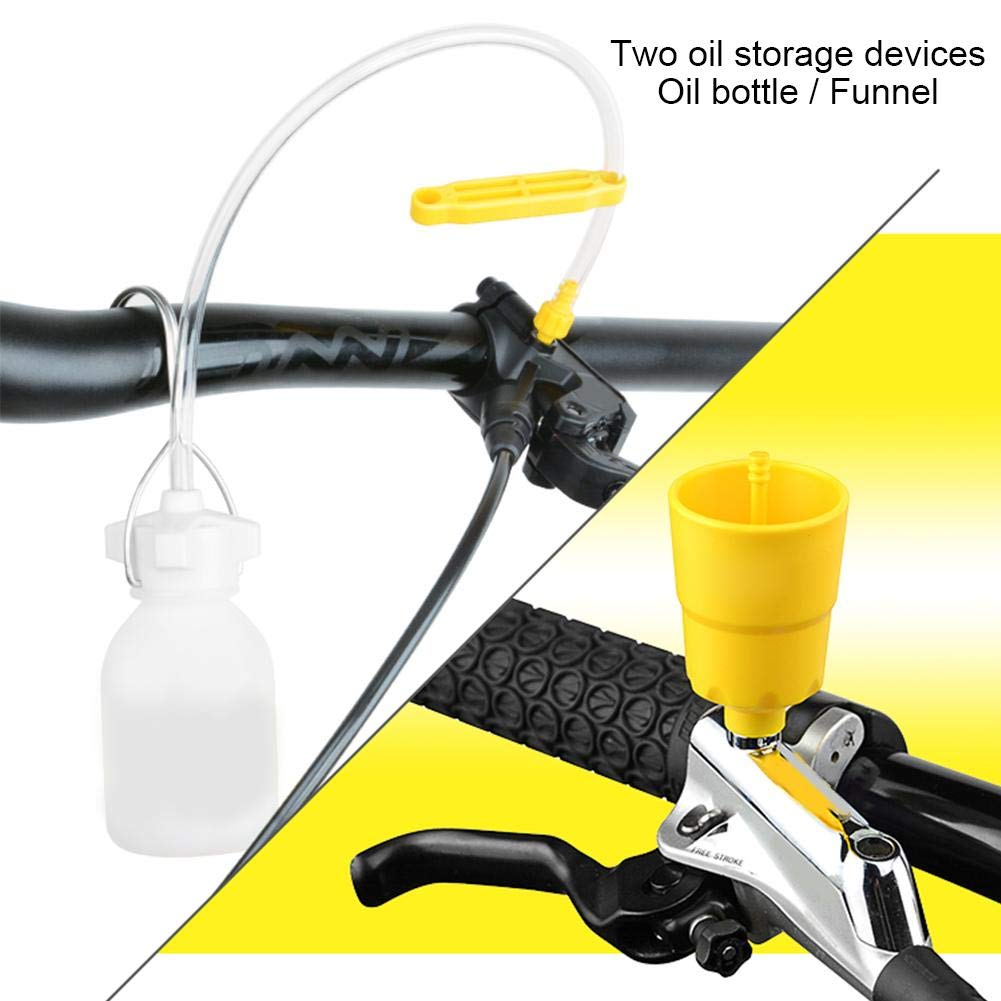 VGEBY Brake Bleed Kit Disc Brake Bleed Kit Tools Biking Professional Hydraulic Disc Brake Bleed Kit for MTB Mountain Bike
