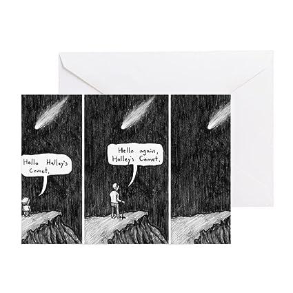 Amazon Cafepress Halleys Comet Depressing Comic Greeting