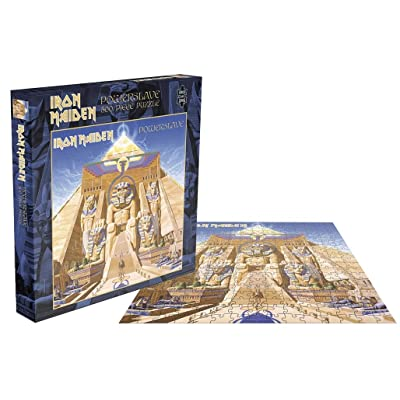 Iron Maiden 'Powerslave' 500 Piece Jigsaw Puzzle: Toys & Games