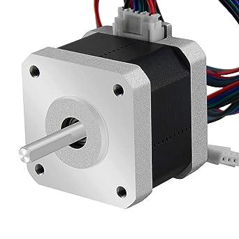 5pcs Nema17 Stepper Motors 2 Phase 12V Motor for Exturder 3D Printer Prusa