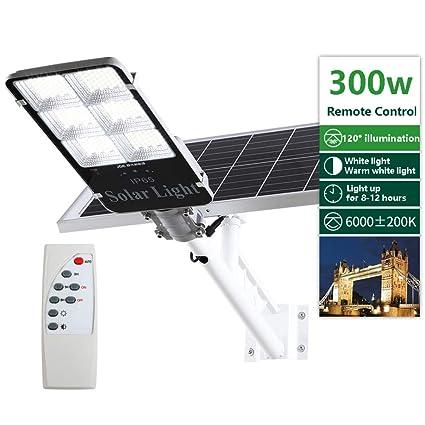 Amazon.com: SOLIGHTS - Lámpara solar de inundación de calle ...