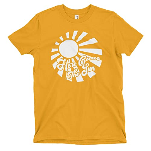 cef684be7829 Here Comes The Sun • The Beatles Tee • Summertime • Summer Beach Tee •  Sunshine Chaser • Vacation Shirt • Spring • Retro Style • Vintage •