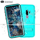 RedPepper Galaxy S9 Plus Waterproof Case[6.2-Inch], IP68 Certified Full Sealed Underwater Protective Cover, Shockproof, Snowproof, Dirtproof for Outdoor Sports (Grass Blue)
