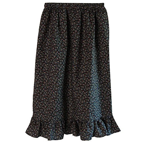 Women's Calico Pioneer Skirt Size ML, (Pioneer Cloths)