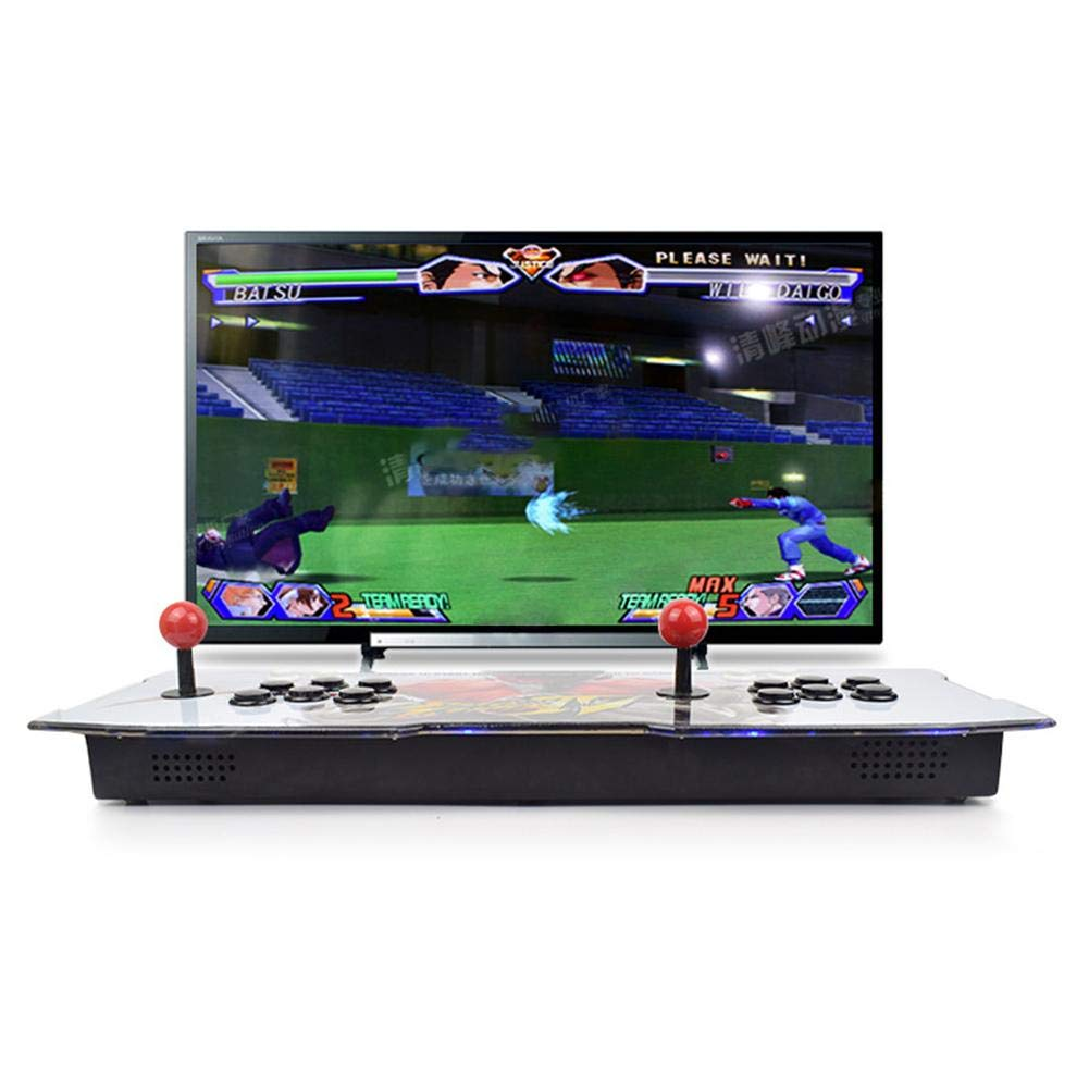 Bulary 2260 in 1 Heimspielkonsolen Double Arcade Kampfspielkonsolen Retro Mini Arcade Machine