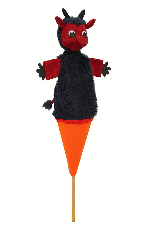 ABA 38cm Diable Hubert pop-up Marionnette (Multicolore)