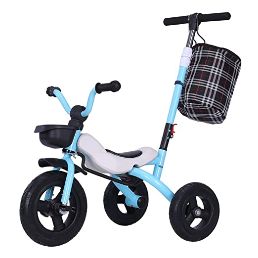 Triciclos For Niños Plegable con Varilla De Empuje 1-3-6 Años ...