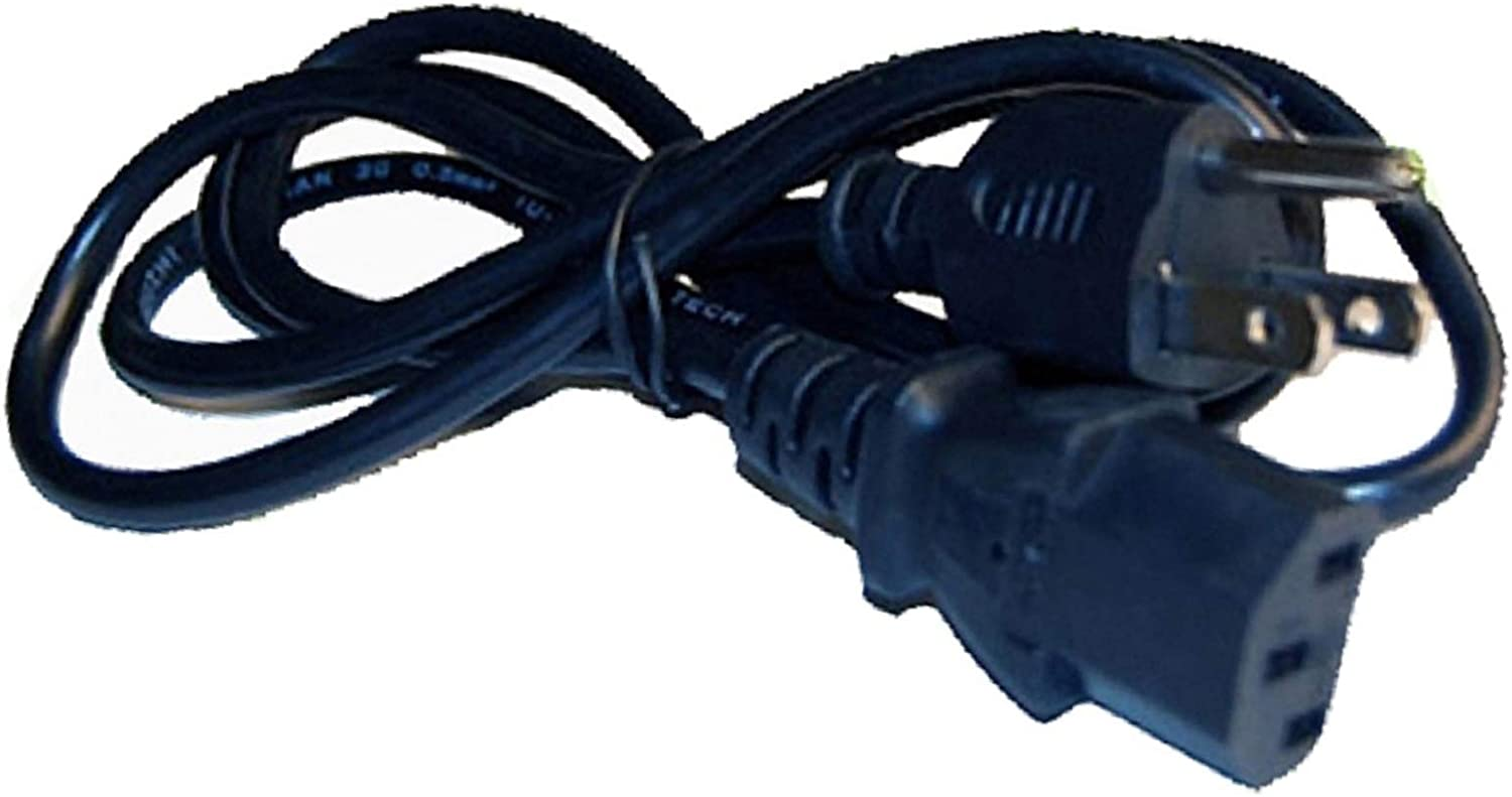 UpBright 3-PIN AC Power Cord Replacement For Philips Magnavox 32MD251D//37 32MF605W//17 37MF231D 26MF231D 19MF337B-27 32MF231D 19MF337B-27 37MF231D//37 42MF7000 42MF7000//17 42 26MF231D 26 inch LCD HD TV