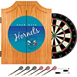 NBA Charlotte Hornets Wood Dart Cabinet, One Size, Brown