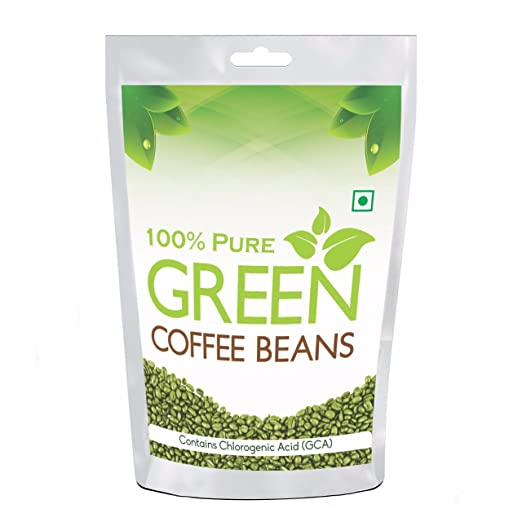 Pure organic Arabica Green Coffee Beans 200gm