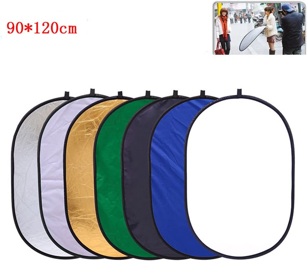 gazechimp 7 in 1 Light Reflector 35x47 Inch Collapsible Photo Disc Photography Studio