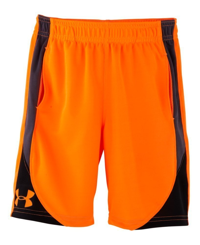 Under Armour Little Boys' Pre-School UA Flare Shorts 6 Blaze Orange