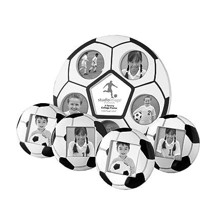 Amazon.com - Studio Silversmiths 5 Piece Soccer Photo Frame Set ...