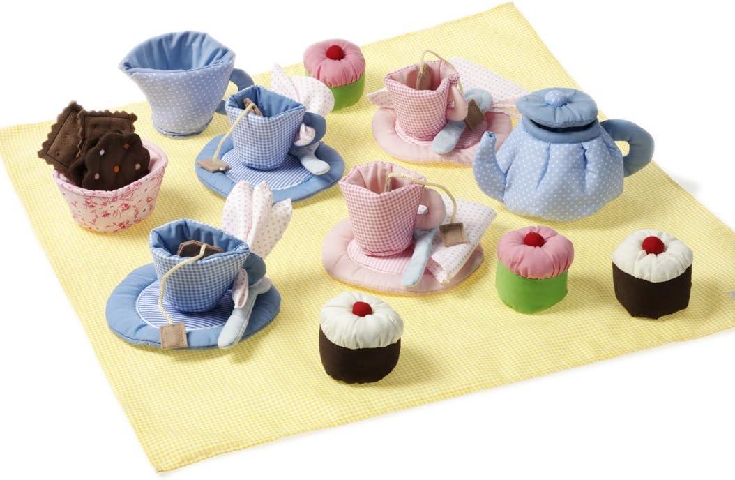 Kinder Kochgeschirr Vergleich - oskar & ellen Tee-Set mit Kuchen
