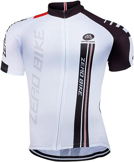 zero Bike® Hombre Bicicleta Camisa bicicleta Top Ciclismo Maillot ...